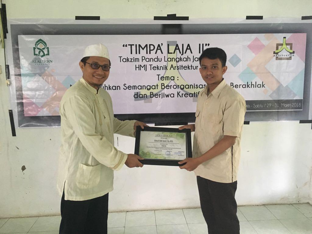 Up Grading TIMPALAJA II HMJ 2018