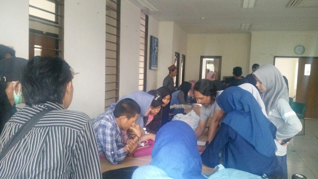 Evaluasi tahap I (Pengabdian Masyarakat Kampung Kara'ba