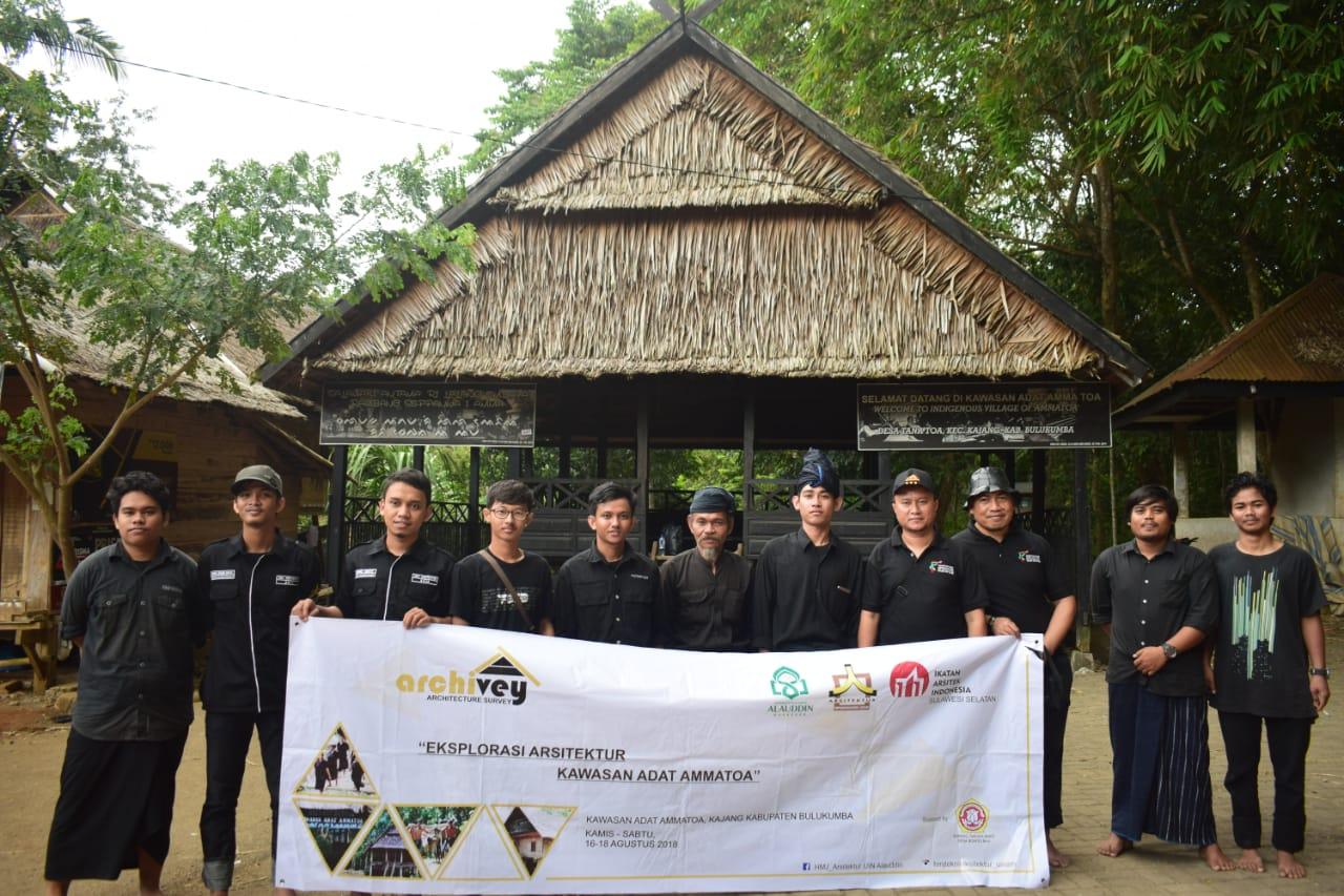 ARCHIVEY: Architectur Survey) di Kawasan Adat Ammatoa Kajang, Kabupaten Bulukumba, Sulawesi Selatan