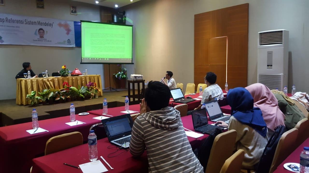 Suasana Kegiatan Workshop Academic Writing