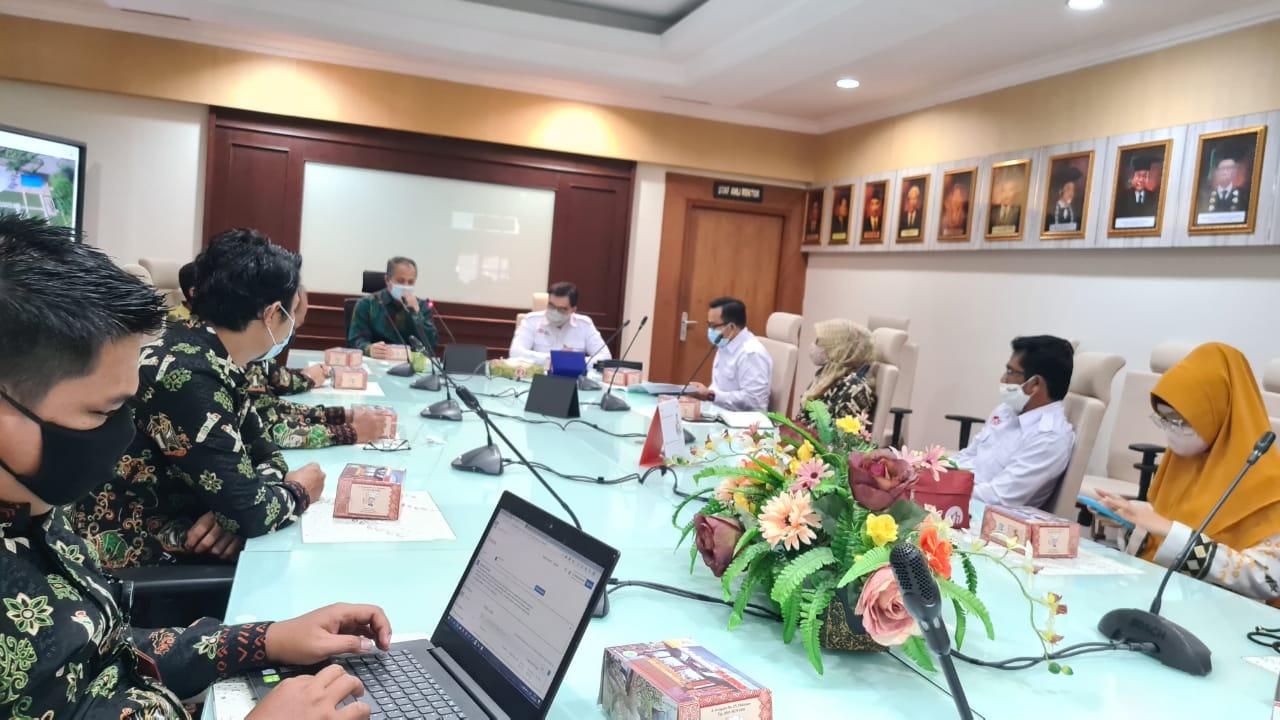 Penandatanganan MoU kerjasama dengan Ikatan Arsitek Indonesia (IAI) Provinsi Sulawesi Selatan