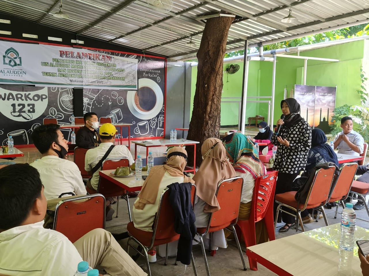 Diskusi Kurikulum Bersama Ikatan Keluarga Alumni (IKA) Arsitektur UIN Alauddin Makassar